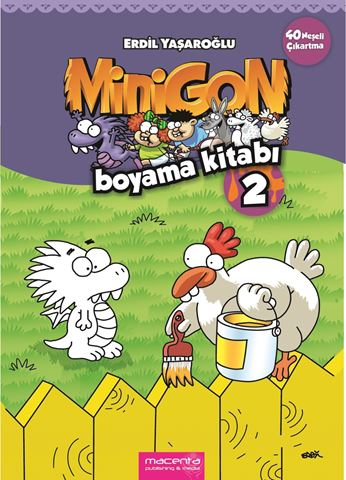 Resim  MINIGON COLORING BOOK 2